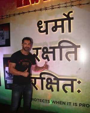 John Abraham - Photos: Trailer Launch Of Film Romeo Akbar Walter (Raw) | Picture 1630655