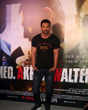 John Abraham - Photos: Trailer Launch Of Film Romeo Akbar Walter (Raw) | Picture 1630677