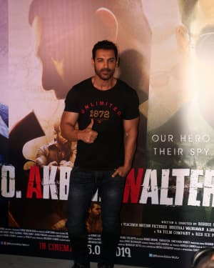 John Abraham - Photos: Trailer Launch Of Film Romeo Akbar Walter (Raw) | Picture 1630678