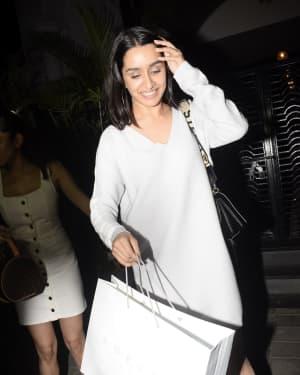 Shraddha Kapoor - Photos: Celebs Spotted at Soho House