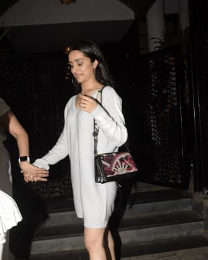 Shraddha Kapoor - Photos: Celebs Spotted at Soho House | Picture 1630713