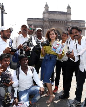 Photos: Promotion Of Film Photograph at Gateway Of India