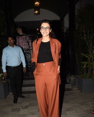 Taapsee Pannu - Photos: Celebs Spotted at Soho House