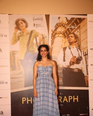 Sanya Malhotra - Photos: Song Launch Of Film Photograph at PVR Icon | Picture 1633386