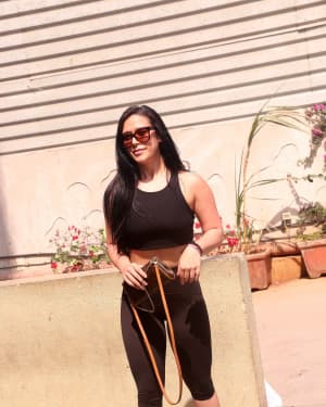 Krishna Shroff - Photos: Promotion For The Launch Of Matrix Fight Night