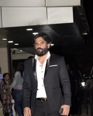 Sunil Shetty - Photos: CCL party at Sohail Khan's House