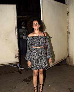 Sanya Malhotra - Photos: Screening of film Photograph at Sunny Super Sound | Picture 1634639