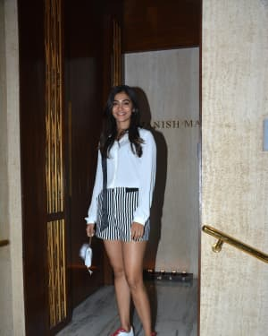 Pooja Hegde - Photos: Celebs at Manish Malhotra's House