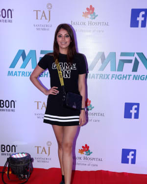 Anushka Ranjan - Photos: Launch of Matrix Fight Night at NSCI worli