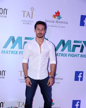 Tiger Shroff - Photos: Launch of Matrix Fight Night at NSCI worli