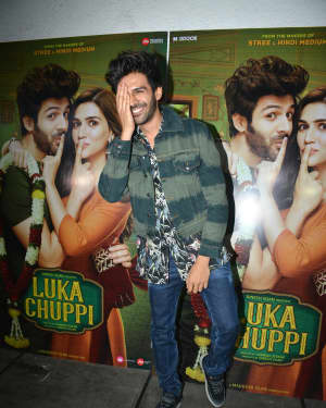Kartik Aaryan - Photos: Success Party of Luka Chuppi