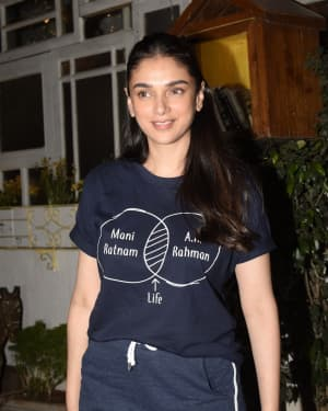 Photos: Aditi Rao Hydari Spotted at Juhu