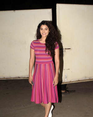 Saiyami Kher - Photos: Screening of film Mere Pyare Prime Minister at Sunny Sound