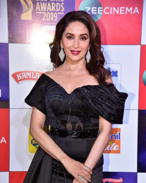 Madhuri Dixit - Photos: Celebs at Zee Cine Awards 2019 Red Carpet