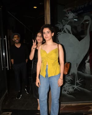 Sanya Malhotra - Photos: Rohini Iyer host a party for Guneet Monga to celebrate her Oscar Win