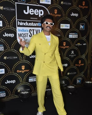 Ranveer Singh - Photos: Celebs at HT Most Stylish Awards 2019