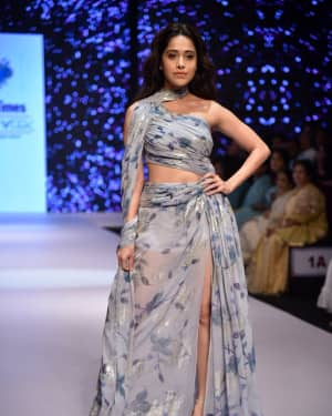 Photos: Nushrat Bharucha Showstopper For Zarf at BTFW 2019