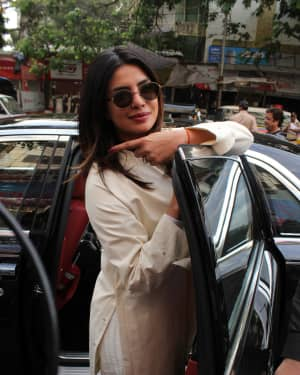 Priyanka Chopra - Photos: Celebs Voting For 2019 Election