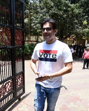 Arbaaz Khan - Photos: Celebs Voting For 2019 Election