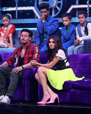 Photos: Promotion Of Student Of The year 2 on the sets of Super Dancer Chapter 3 | Picture 1645549