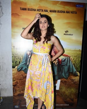 Taapsee Pannu - Photos: Wrapup Party Of Film Saand ki Aankh at Arth | Picture 1645592