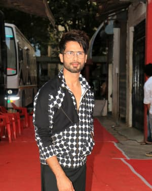 Shahid Kapoor - Photos: Celebs Shoot For Neha Dhupia's show Vogue with BFF