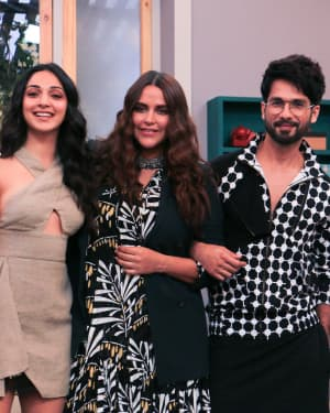 Photos: Celebs Shoot For Neha Dhupia's show Vogue with BFF