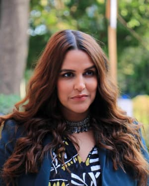 Neha Dhupia - Photos: Celebs Shoot For Neha Dhupia's show Vogue with BFF