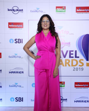 Anjana Sukhani - Photos: Red Carpet Of '8th Edition Of Lonely Planet Magazine India Travel Awards 2019'
