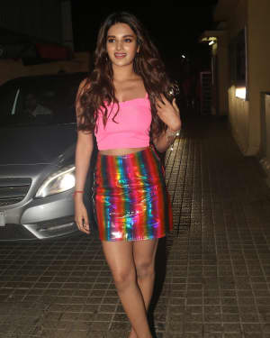 Nidhhi Agerwal - Photos: Screening Of Film Student Of The Year 2 at Pvr Juhu