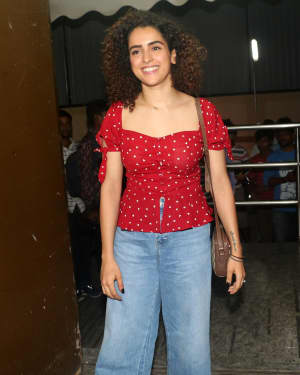 Sanya Malhotra - Photos: Screening Of Film Student Of The Year 2 at Pvr Juhu