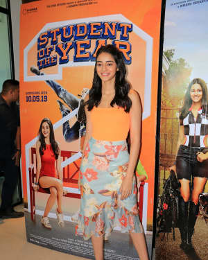 Ananya Pandey - Photos: Student of the Year 2 Cast at Dharma Office   Picture 1646507