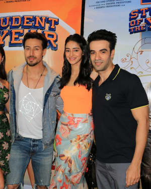 Photos: Student of the Year 2 Cast at Dharma Office