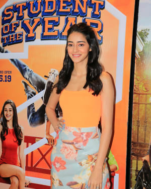 Ananya Pandey - Photos: Student of the Year 2 Cast at Dharma Office   Picture 1646509