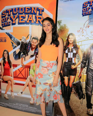 Ananya Pandey - Photos: Student of the Year 2 Cast at Dharma Office   Picture 1646508