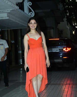 Tamanna Bhatia - Photos: Celebs Spotted at Juhu