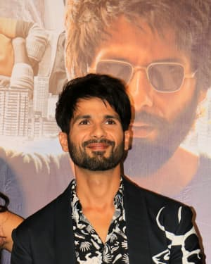 Shahid Kapoor - Photos: Trailer Launch Of Film Kabir Singh
