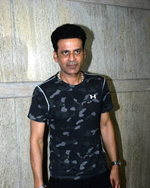 Manoj Bajpai - Photos: Screening Of India's Most Wanted