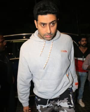 Abhishek Bachchan - Photos: Screening Of India's Most Wanted
