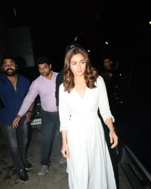 Alia Bhatt - Photos: Screening Of De De Pyaar De at Pvr Icon