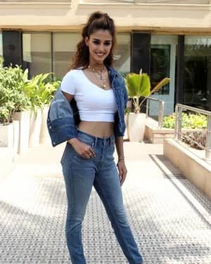 Photos: Disha Patani Spotted During Bharat Interview | Picture 1649313