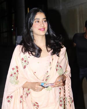 Janhvi Kapoor - Photos: Screening Of India's Most Wanted | Picture 1649423