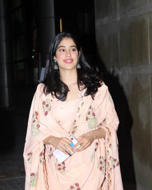 Janhvi Kapoor - Photos: Screening Of India's Most Wanted | Picture 1649425