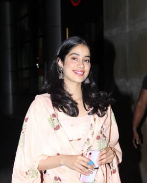 Janhvi Kapoor - Photos: Screening Of India's Most Wanted