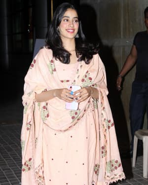 Janhvi Kapoor - Photos: Screening Of India's Most Wanted | Picture 1649421