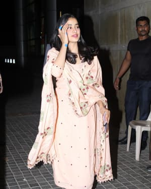 Janhvi Kapoor - Photos: Screening Of India's Most Wanted | Picture 1649420