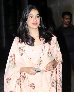 Janhvi Kapoor - Photos: Screening Of India's Most Wanted | Picture 1649424