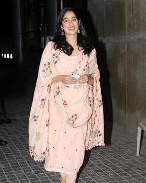Janhvi Kapoor - Photos: Screening Of India's Most Wanted | Picture 1649426