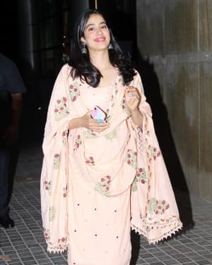 Janhvi Kapoor - Photos: Screening Of India's Most Wanted | Picture 1649427