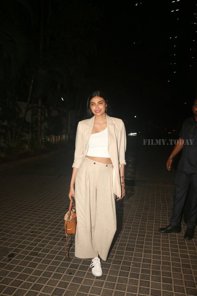Athiya Shetty - Photos: Screening Of India's Most Wanted   Picture 1649659